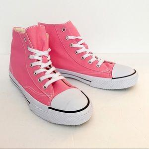 Airwalk NWOT pink high top sneakers